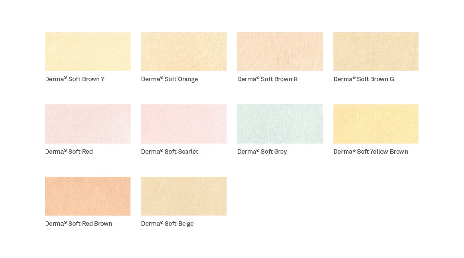 Derma soft color scheme