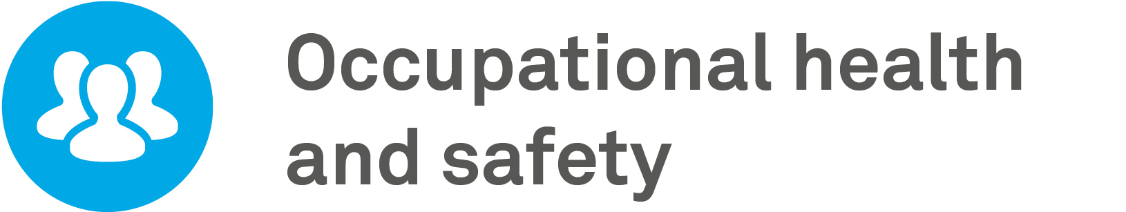 occupational health & safety gri icon