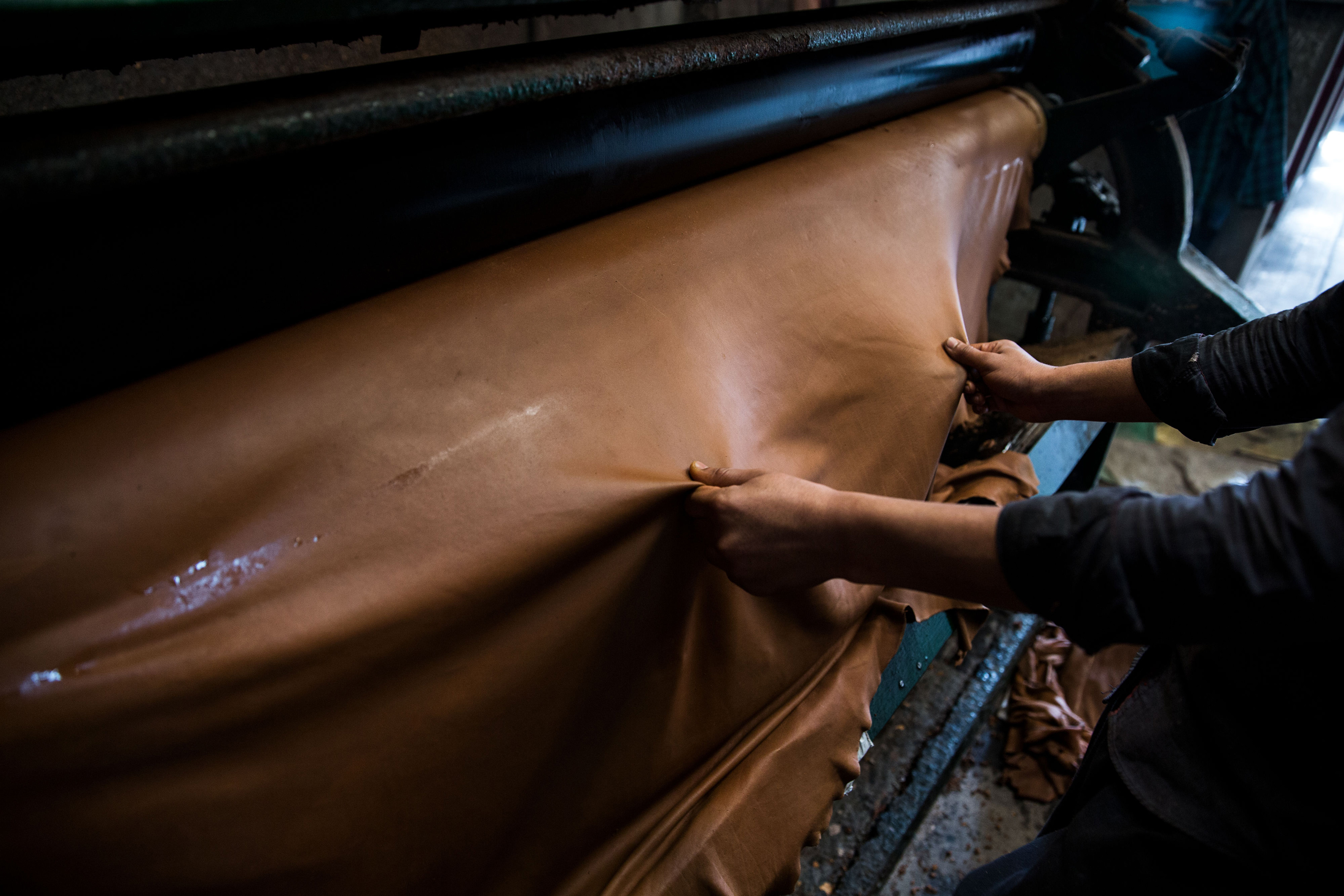 How a leather product is made