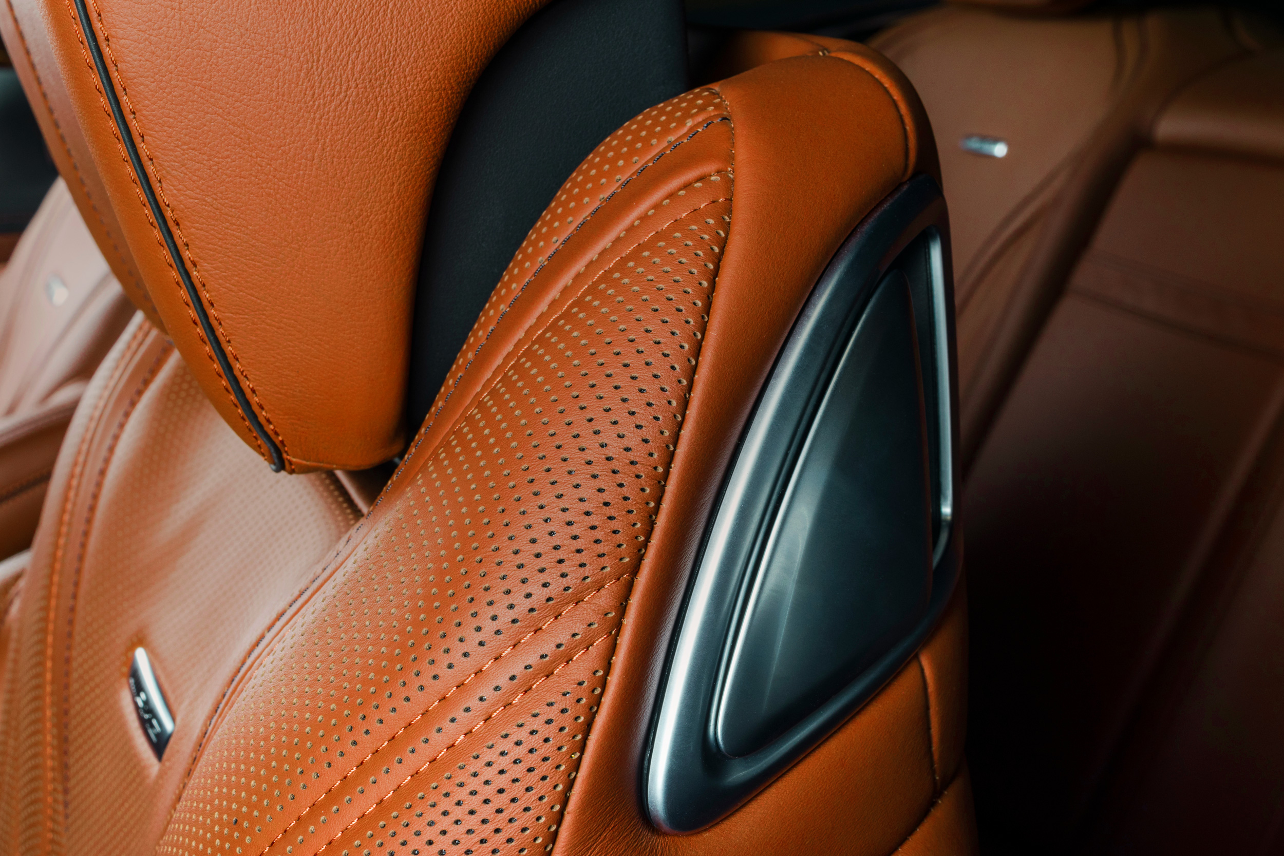 Leather for automotive interiors