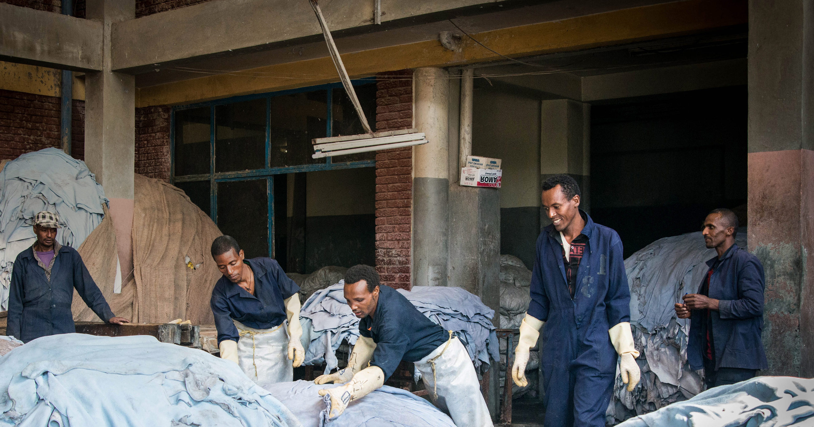 Making Ethiopian leather world-class and sustainable