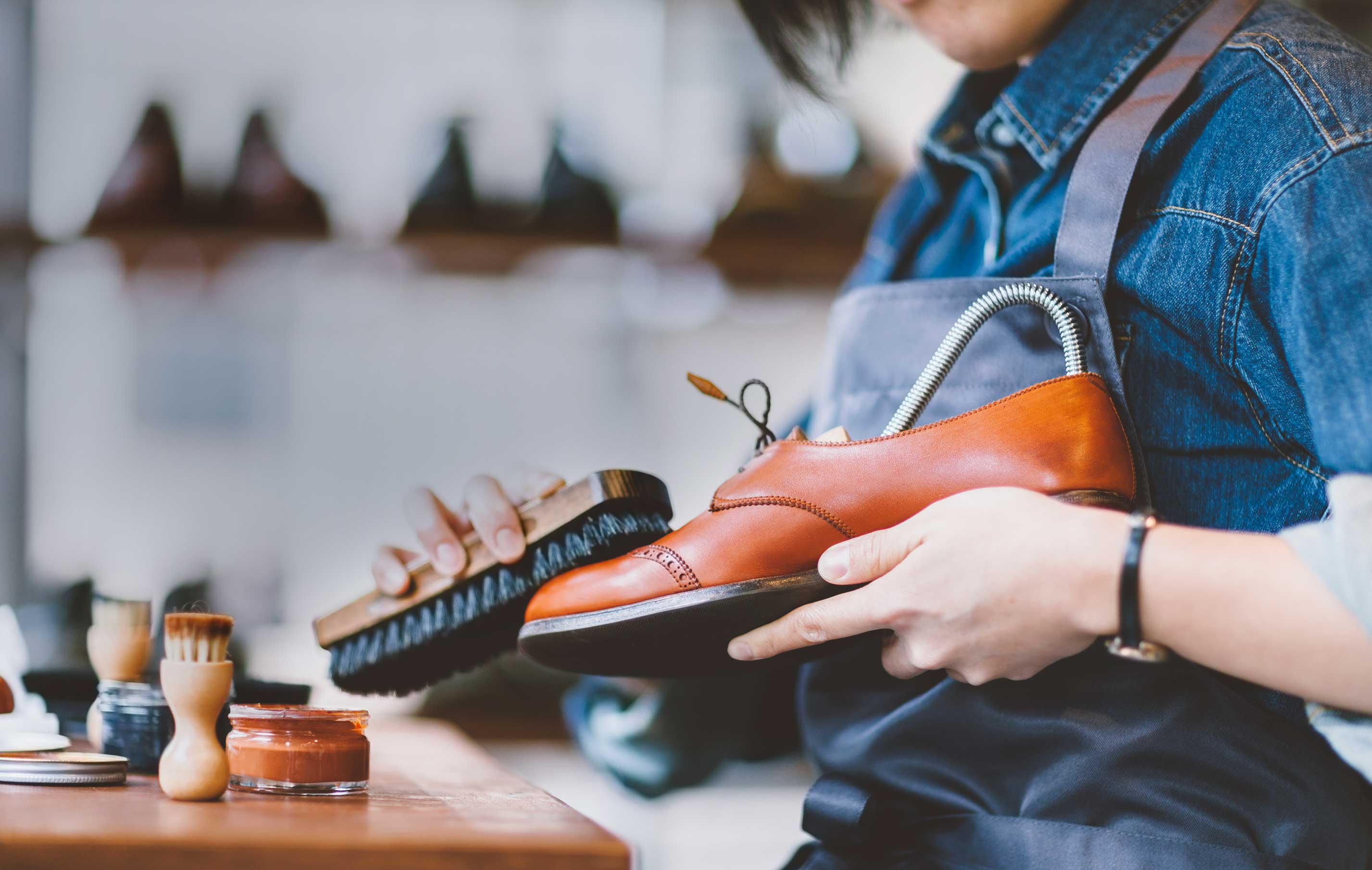 Leather shoe care solutions that protect and nourish